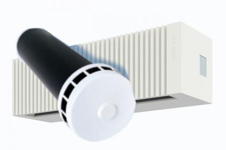 Приточные клапаны для естественной вентиляции