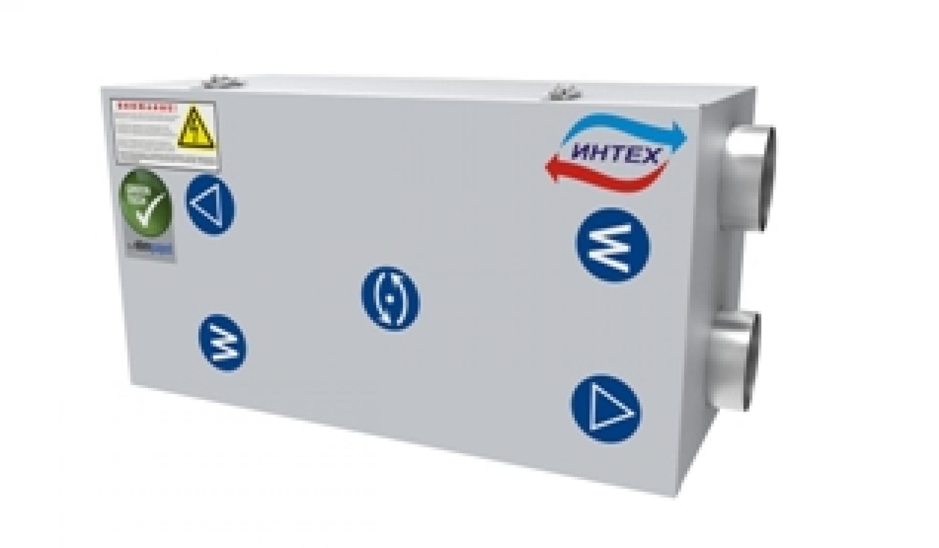 Приточно-вытяжная вентиляционная установка ВУ-350 купить в Новосибирске